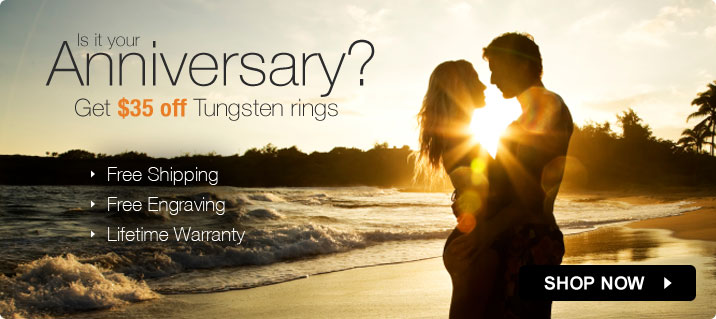 Buy tungsten rings